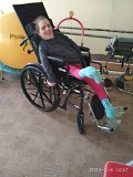 Special Needs Wheelchair Delivered to Ukraine