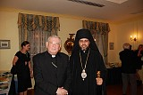His Grace Bishop Daniel with the Apostolic Nuncio (Vatican) to the United States, Archbishop Pietro SAMBI.