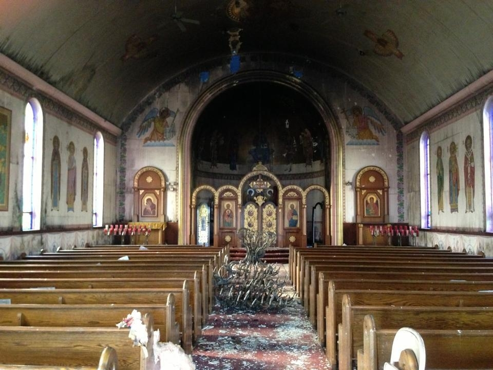 Ukrainian Orthodox Church Of The Usa Updated Fire