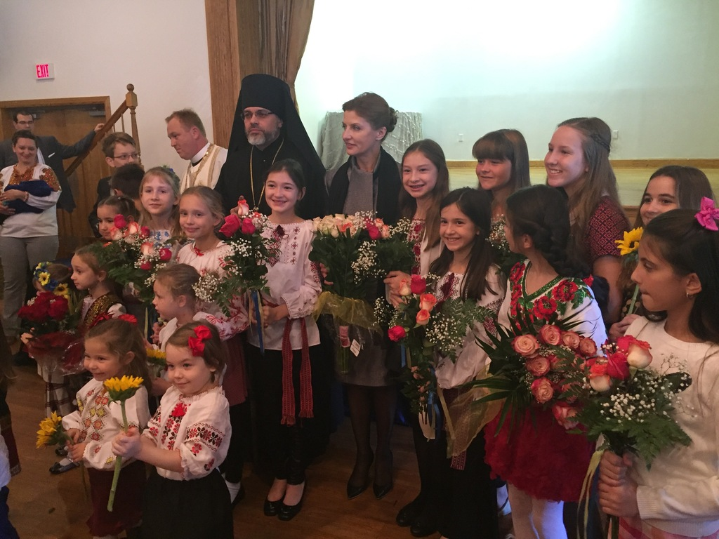 Ukraine First Lady Visits The 109